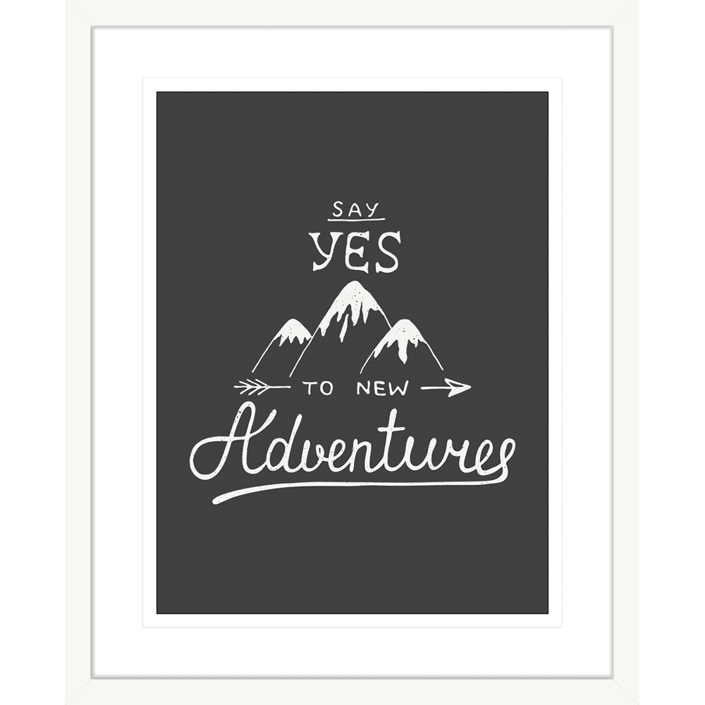 Adventure Awaits 03 - Framed Art Print