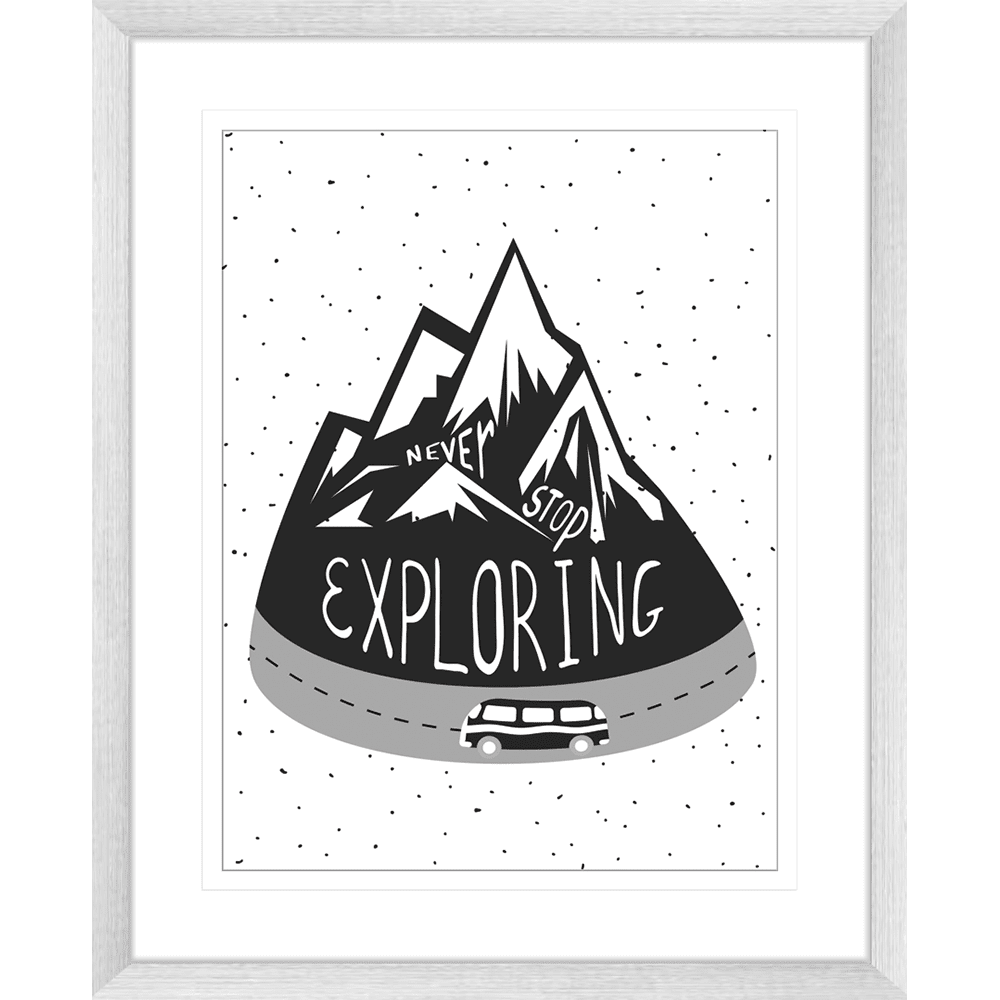 Adventure Awaits 05 - Framed Art Print