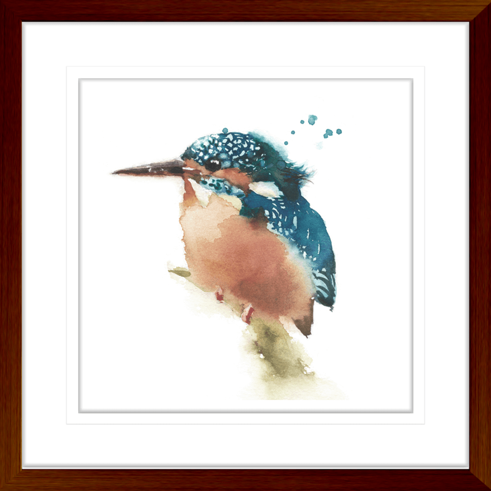 Avairy-Bird-Collection-22-Framed-Art-Print-BIRD22-TEAK