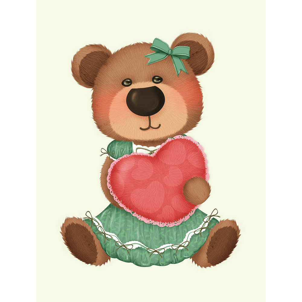 Bear-Buddies-Collection-02-Canvas-and-Paper-Print-BEAR02