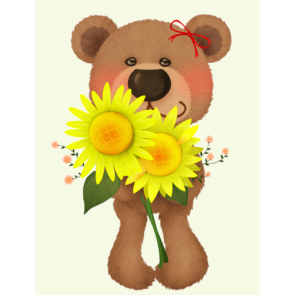 Bear-Buddies-Collection-03-Canvas-and-Paper-Print-BEAR03