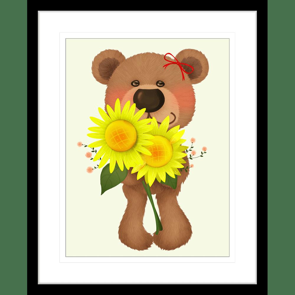 Bear Buddies | Framed Art | Wall Art Gold Coast | Wallpaper | Innovate Interiors