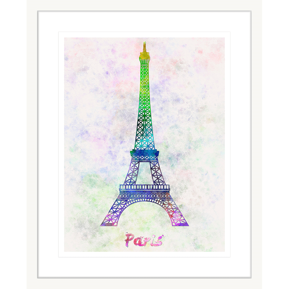 Bonjour Paris | Framed Art | Wall Art Gold Coast | Wallpaper | Innovate Interiors