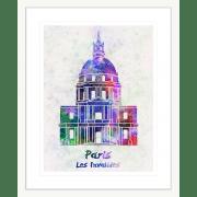 onjour-Paris-Collection-03-Framed-Art-Print-BON03-Wht