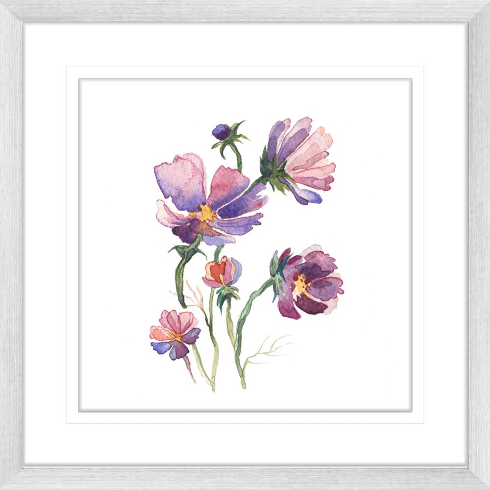 Botanicals-Collection-Framed-Art-Print-WB03-SILVER