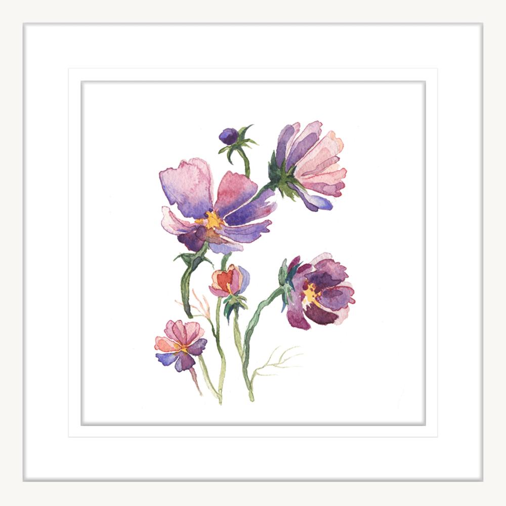 Botanicals-Collection-Framed-Art-Print-WB03-WH
