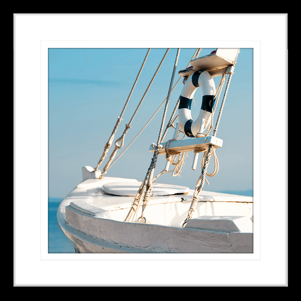 By-the-Seaside-Collection-08-Framed-Art-Print-BTS08-Blk