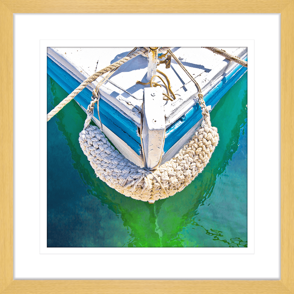 By-the-Seaside-Collection-09-Framed-Art-Print-BTS09-Oak