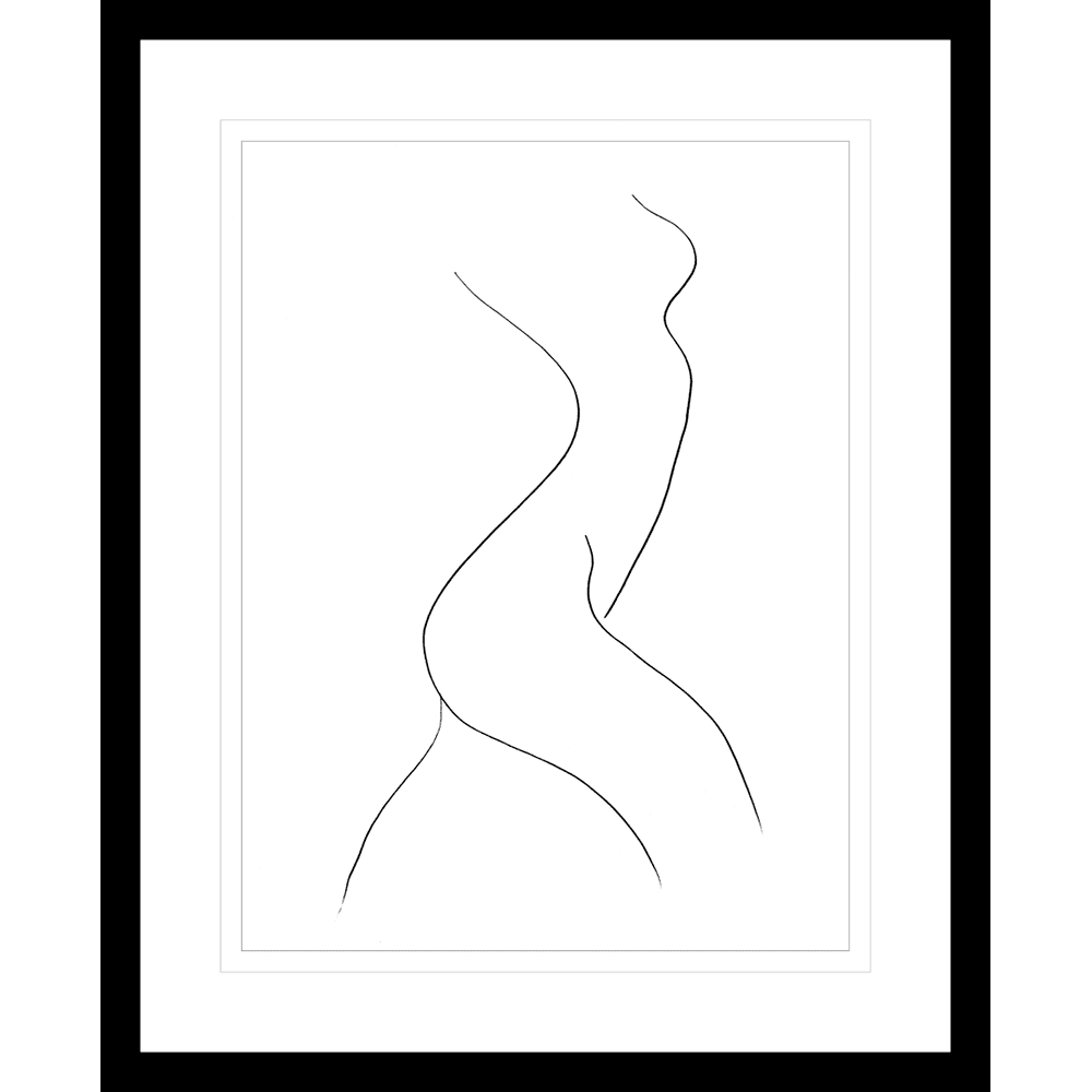 Classic Contours | Framed Art | Wall Art Gold Coast | Wallpaper | Innovate Interiors