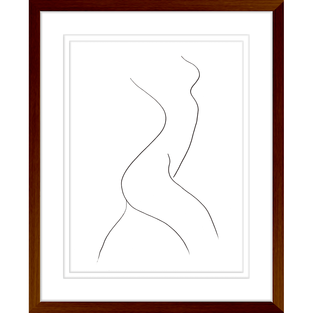 Classic Contours | Framed Art | Wall Art Gold Coast | Wallpaper | Innovate Interiors