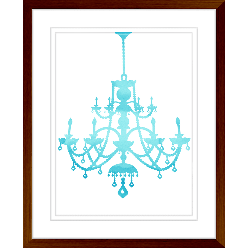 Cheerful Chandeliers | Framed Art | Wall Art Gold Coast | Wallpaper | Innovate Interiors