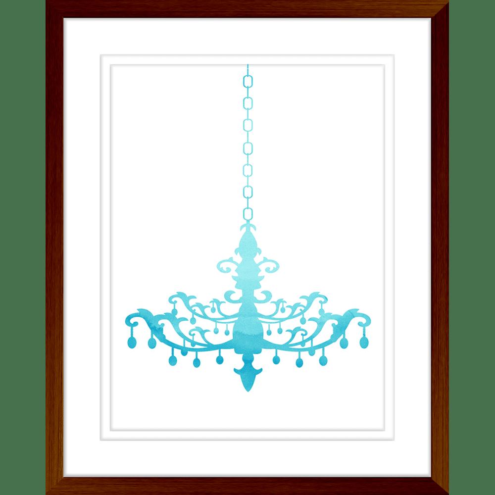 Cheerful Chandeliers | Framed Art | Wall Art Gold Coast | Wallpaper | Innovate Interiors