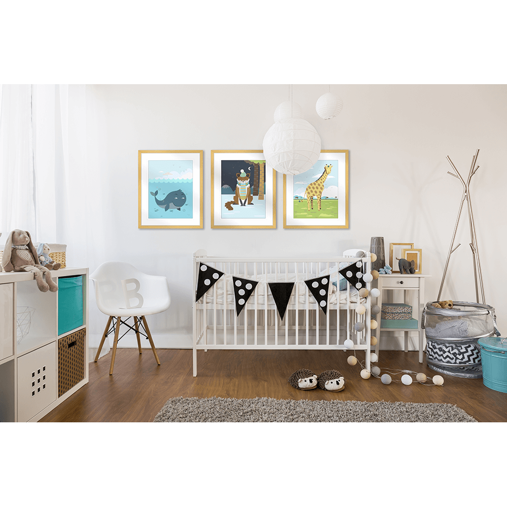 Curious Critters Collection - Styled Room - CUR Room