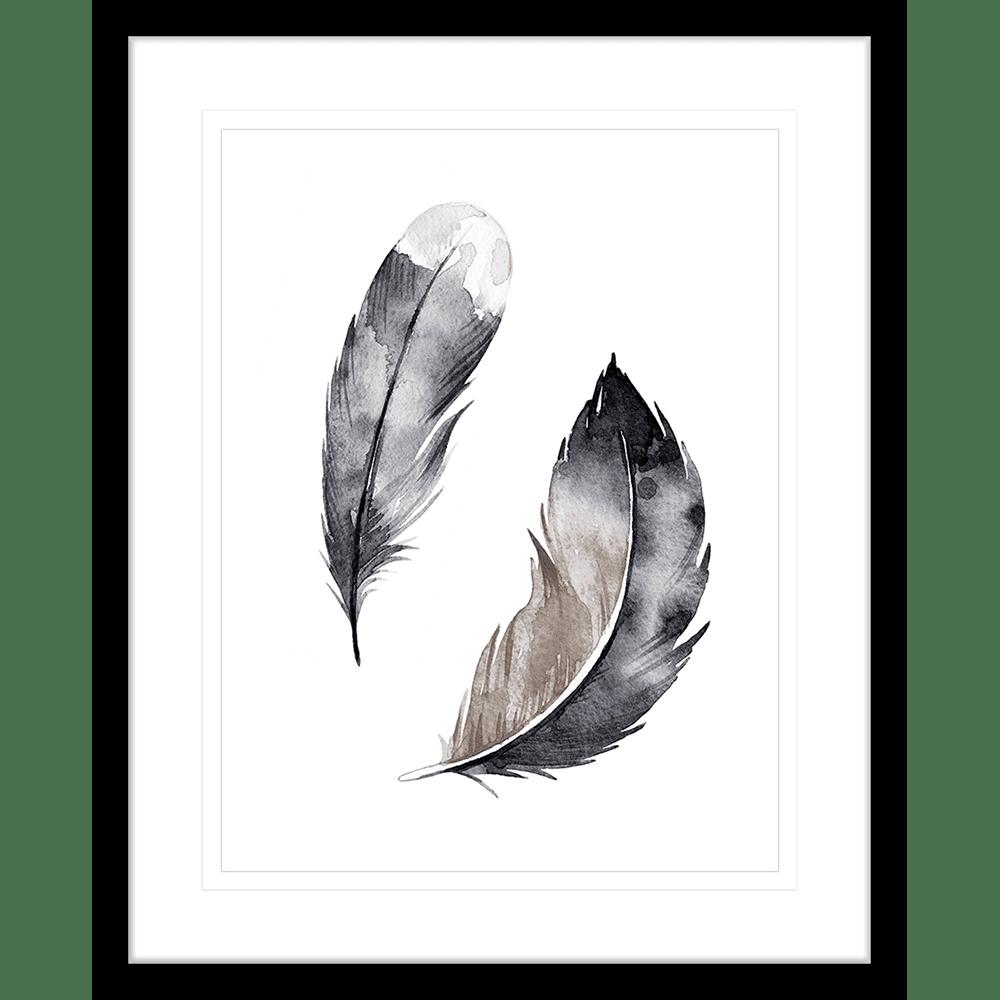 Flourishing Feathers | Framed Art | Wall Art Gold Coast | Wallpaper | Innovate Interiors