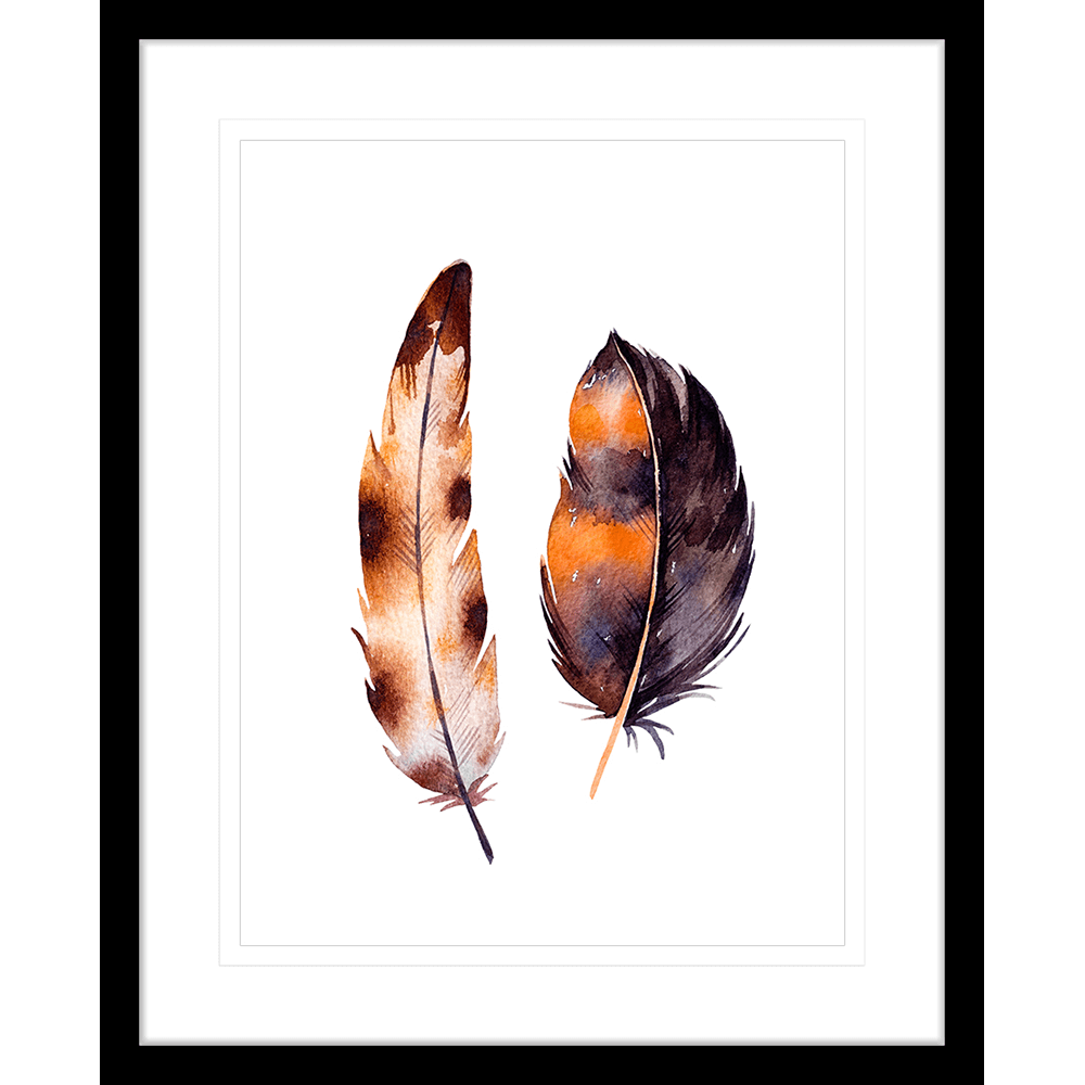 Flourishing Feathers | Framed Art | Wall Art Gold Coast | Wallpaper | Innovate Interiors