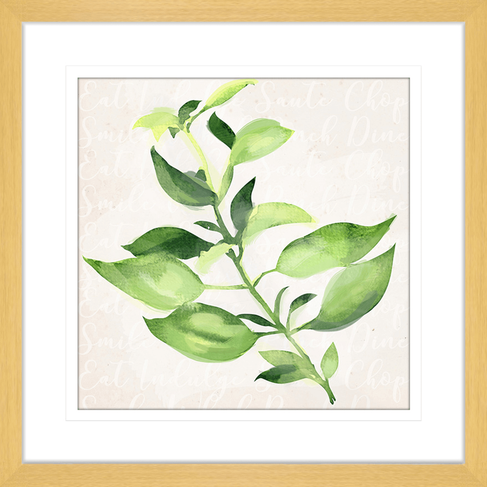 Herb Garden | Framed Art | Wall Art Gold Coast | Wallpaper | Innovate Interiors