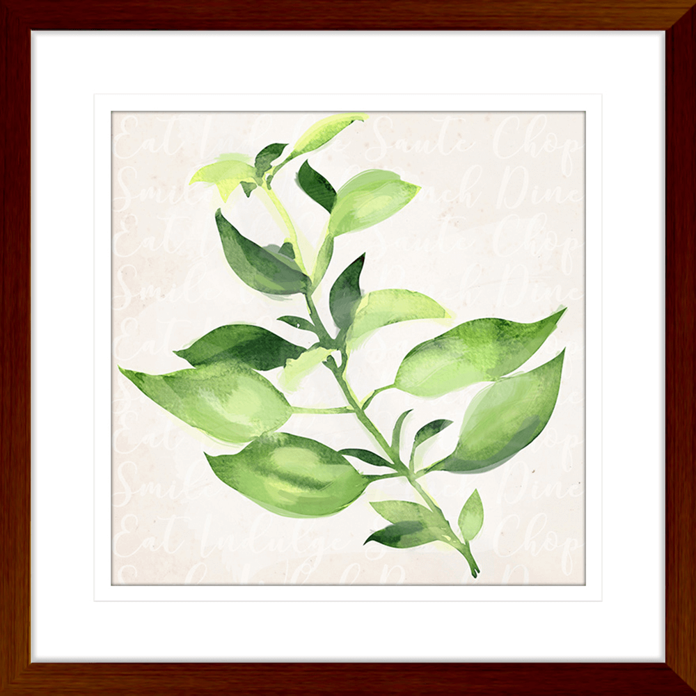 Herb Garden | Framed Art | Wall Art Gold Coast | Wallpaper | Innovate Interiors