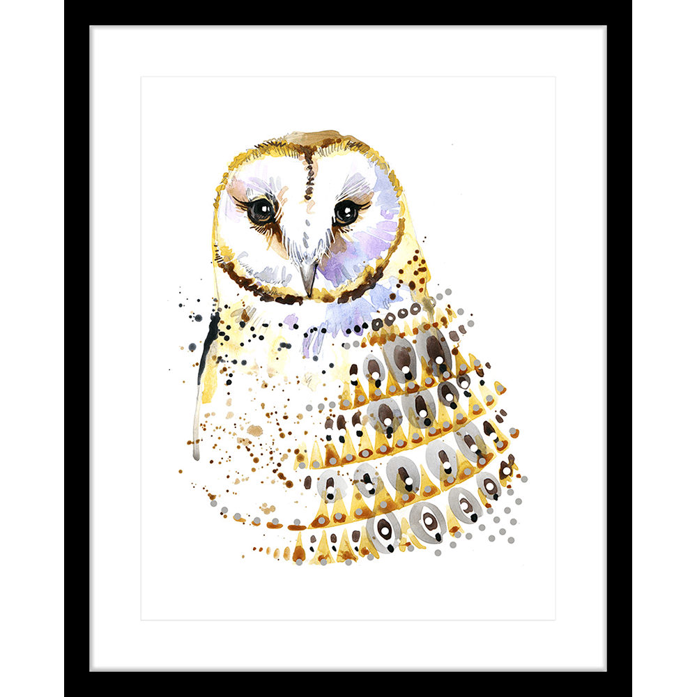 Inca Owls | Framed Art | Wall Art Gold Coast | Wallpaper | Innovate Interiors