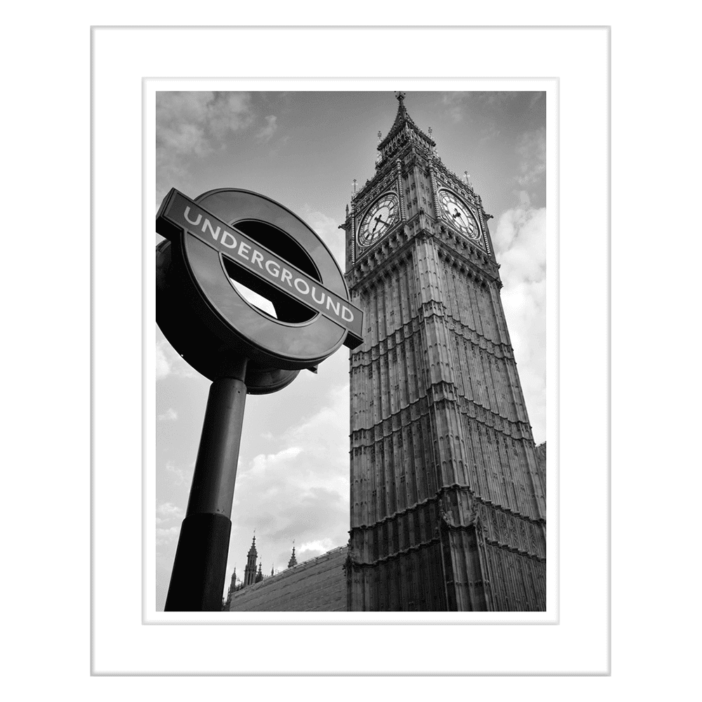Landmark Series BIGBEN | Framed Art | Wall Art Gold Coast | Wallpaper | Innovate Interiors