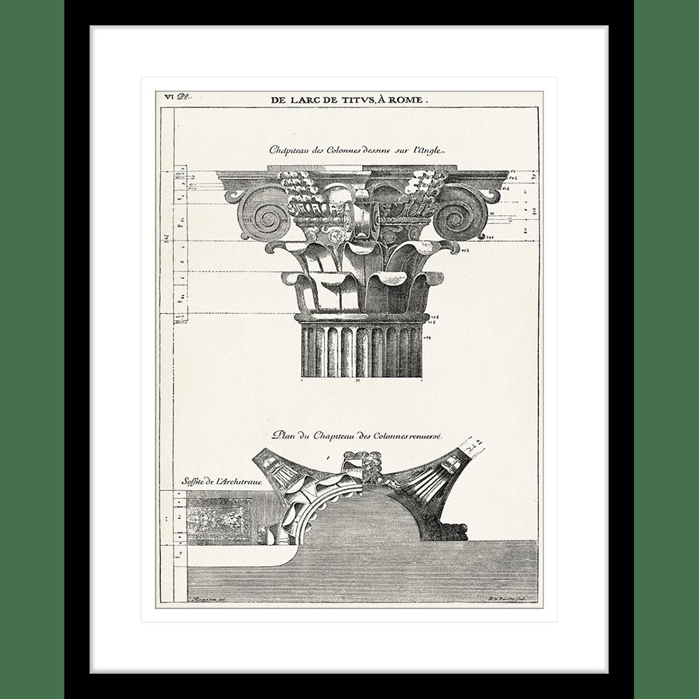 Roman Columns | Framed Art | Wall Art Gold Coast | Wallpaper | Innovate Interiors