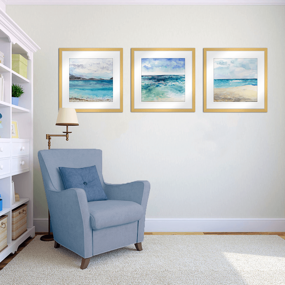 Seascape | Framed Art | Wall Art Gold Coast | Wallpaper | Innovate Interiors