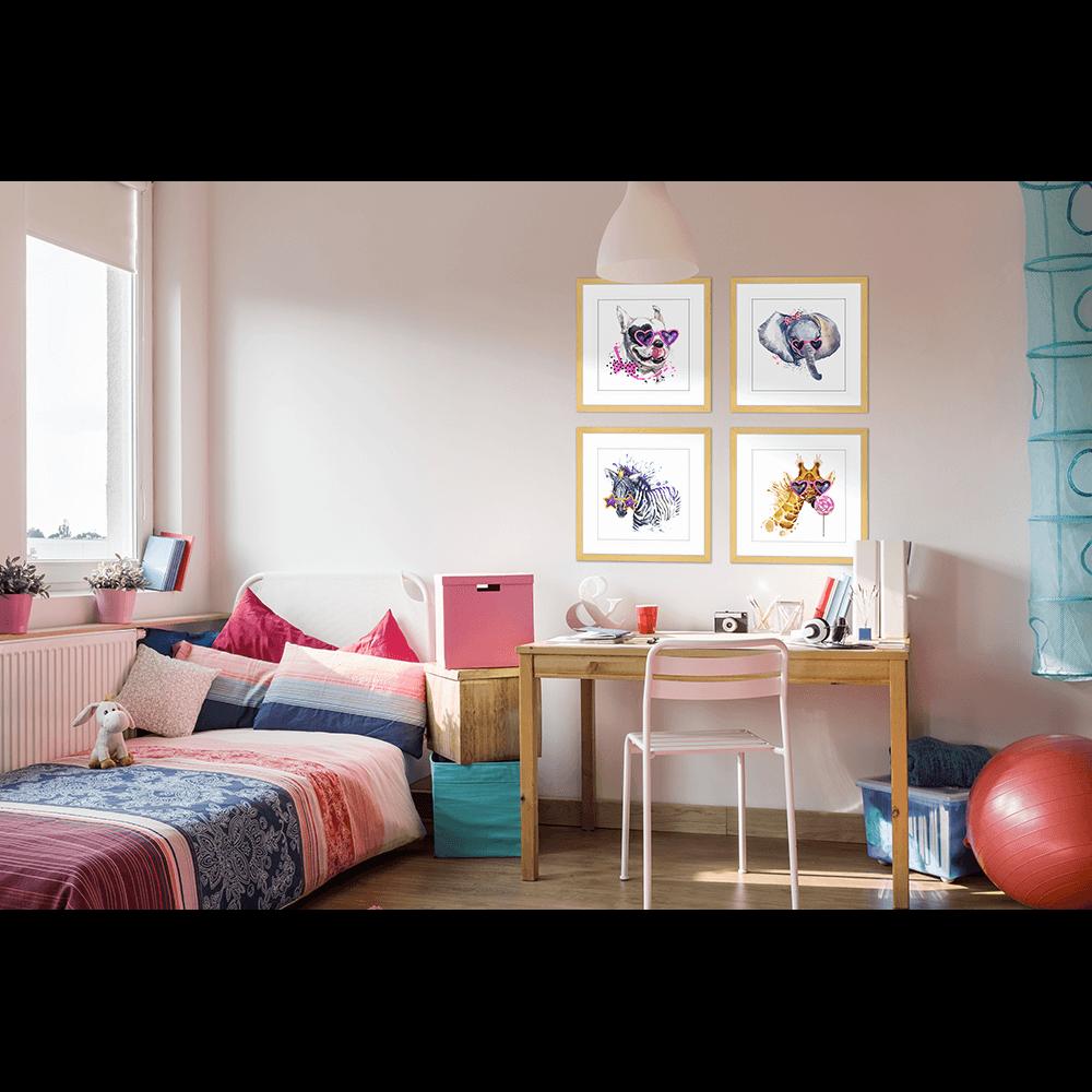 Sunny Safari | Framed Art | Wall Art Gold Coast | Wallpaper | Innovate Interiors