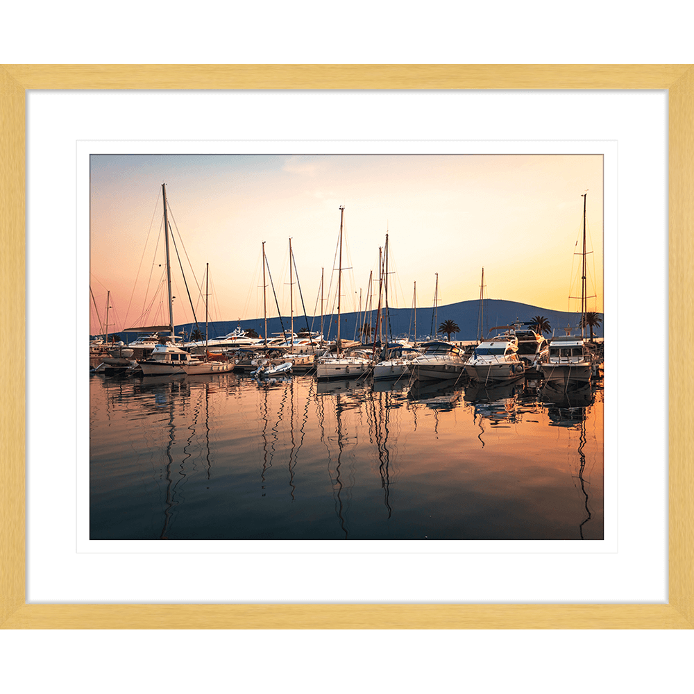 Sunset Serenity | Framed Art | Wall Art Gold Coast | Wallpaper | Innovate Interiors