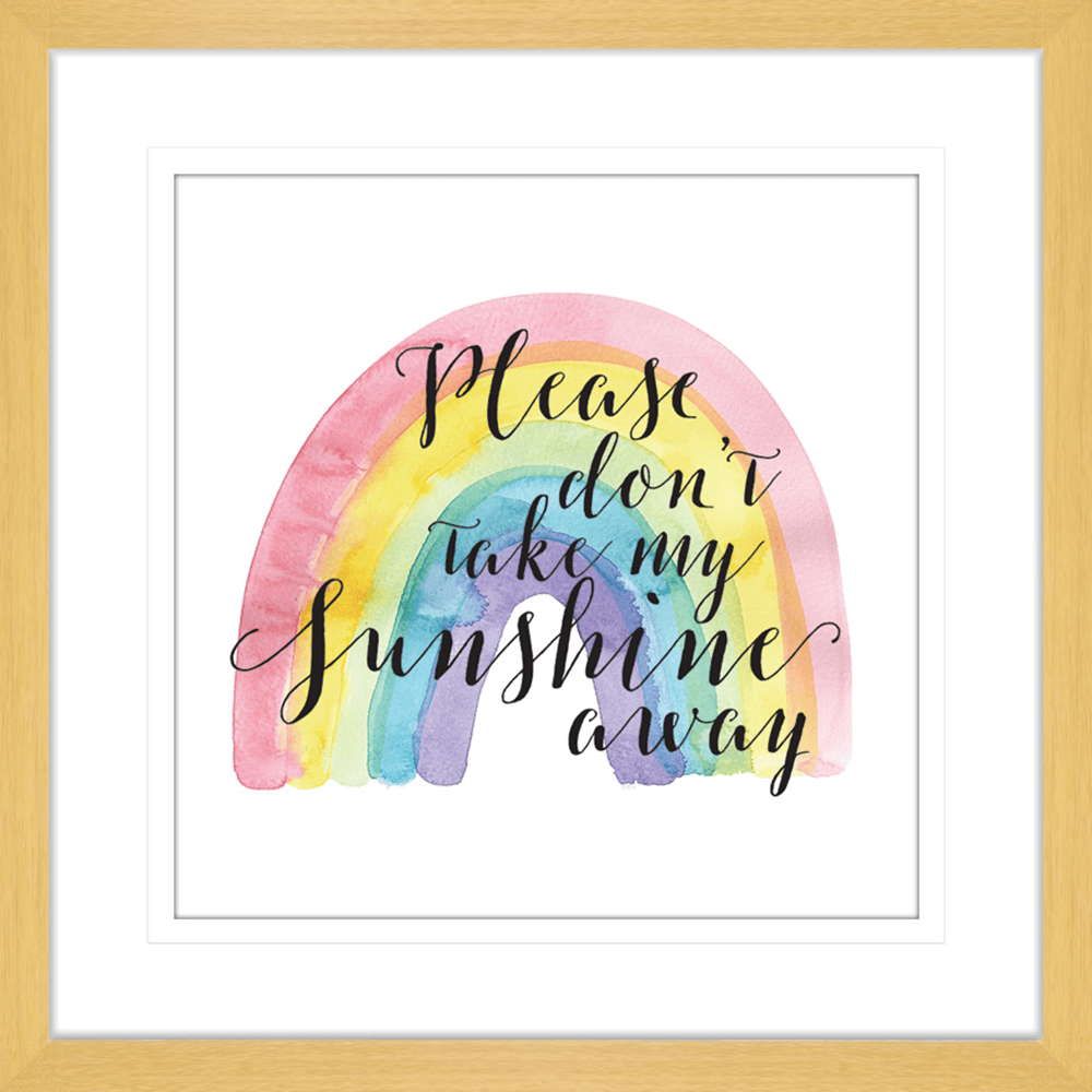 Sunshine (You are my) | Framed Art | Wall Art Gold Coast | Wallpaper | Innovate Interiors