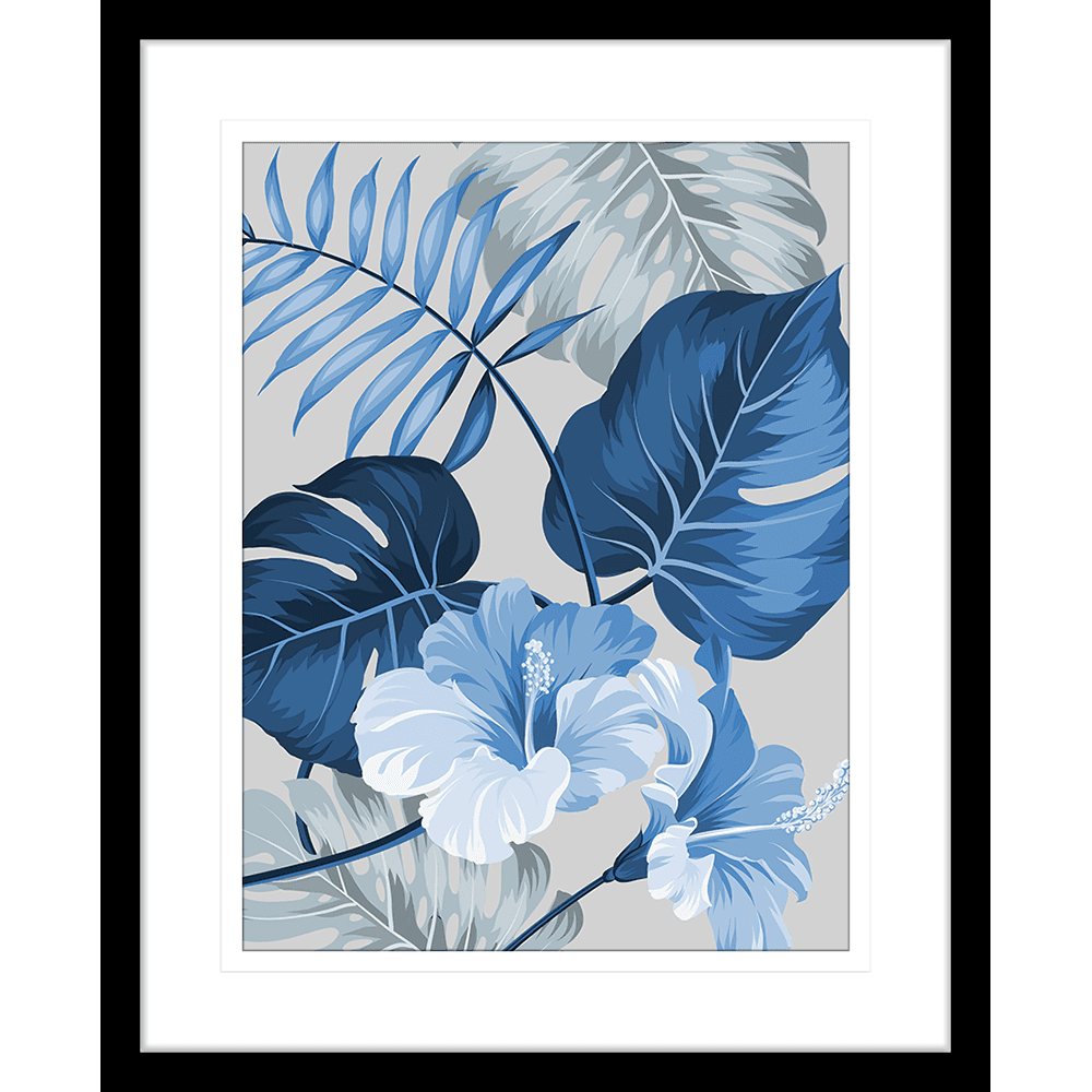Tahitian Hibiscus | Framed Art | Wall Art Gold Coast | Wallpaper | Innovate Interiors