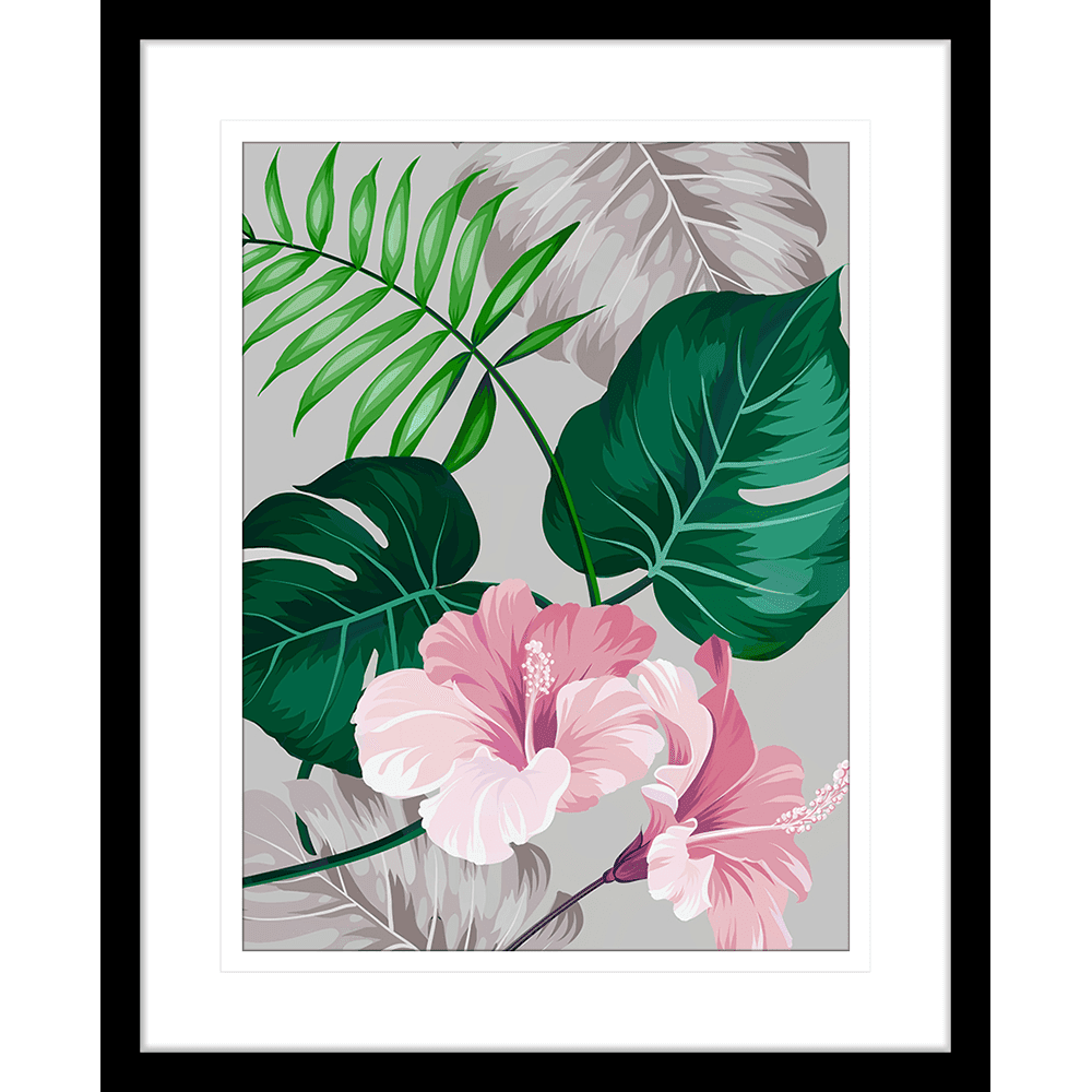 Tahitian Hibiscus | Framed Art | Wall Art Gold Coast | Wallpaper | Innovate Interiors