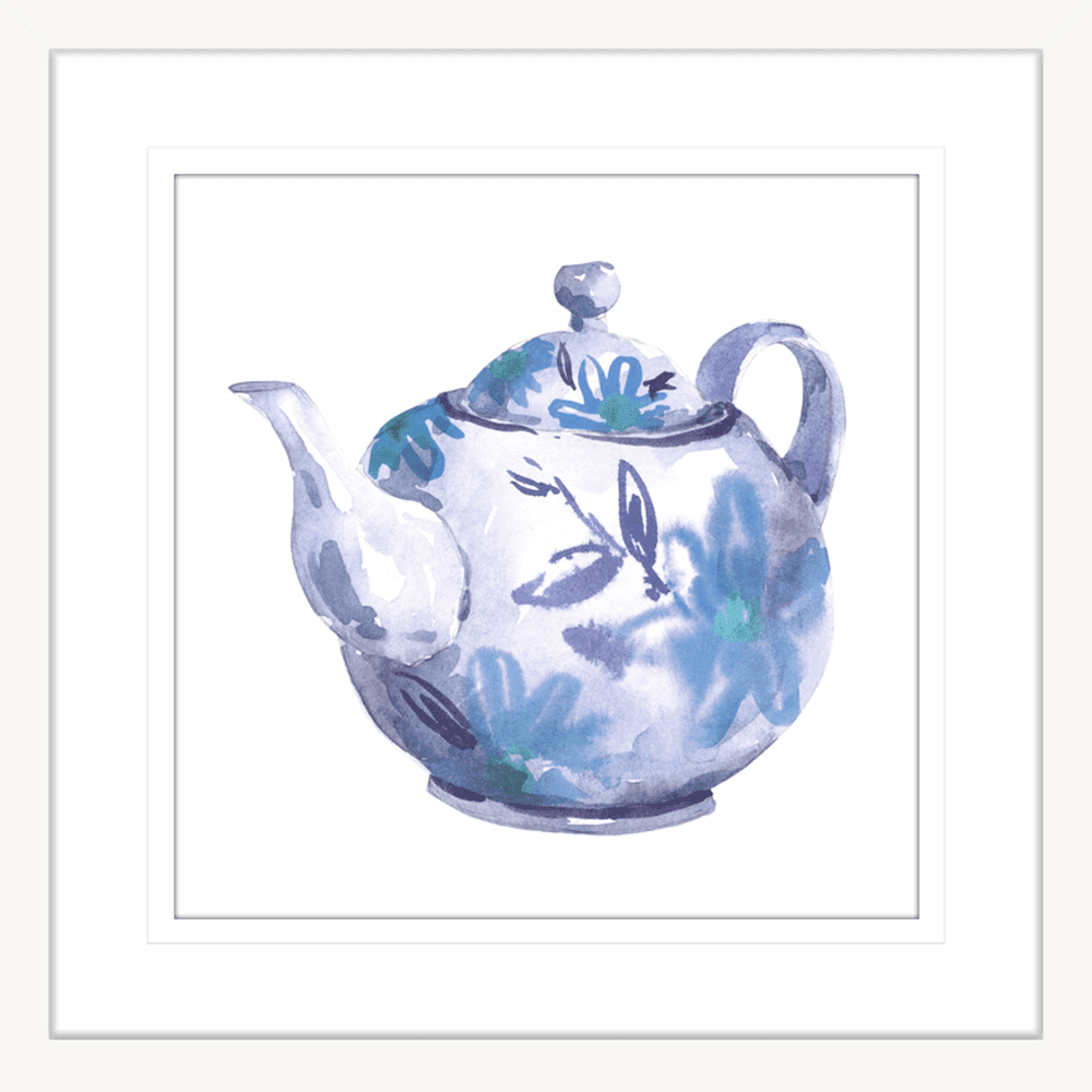 Time for Tea | Framed Art | Wall Art Gold Coast | Wallpaper | Innovate Interiors