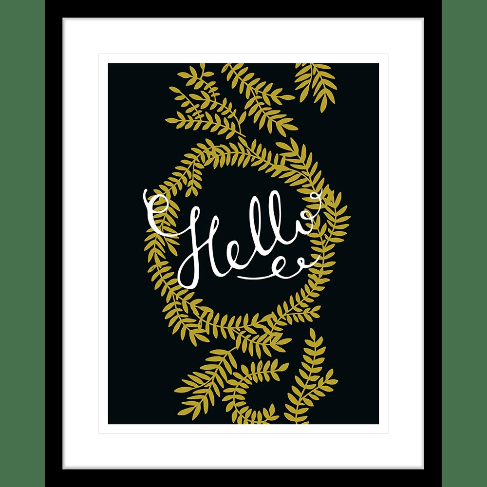 Typo | Framed Art | Wall Art Gold Coast | Wallpaper | Innovate Interiors