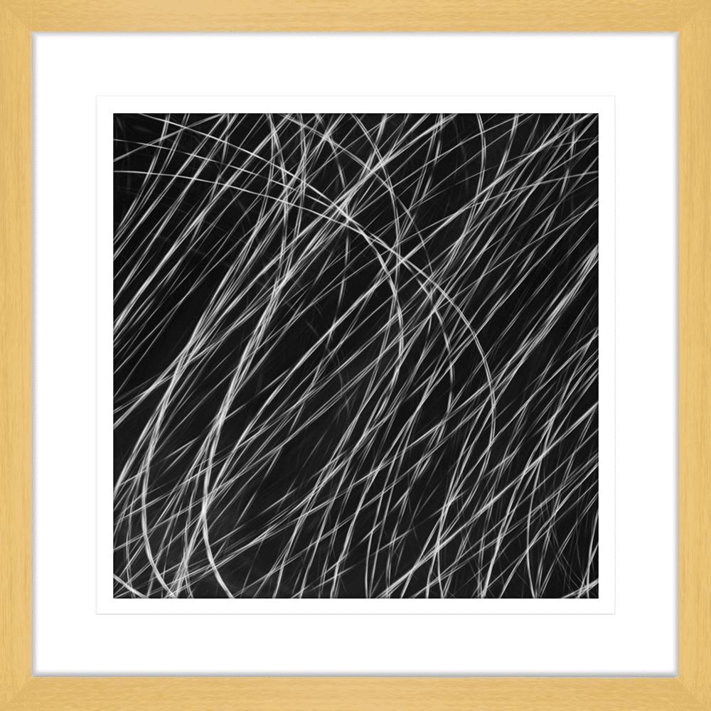 Urban Lights Collection - URB01 - Framed Art Print Oak