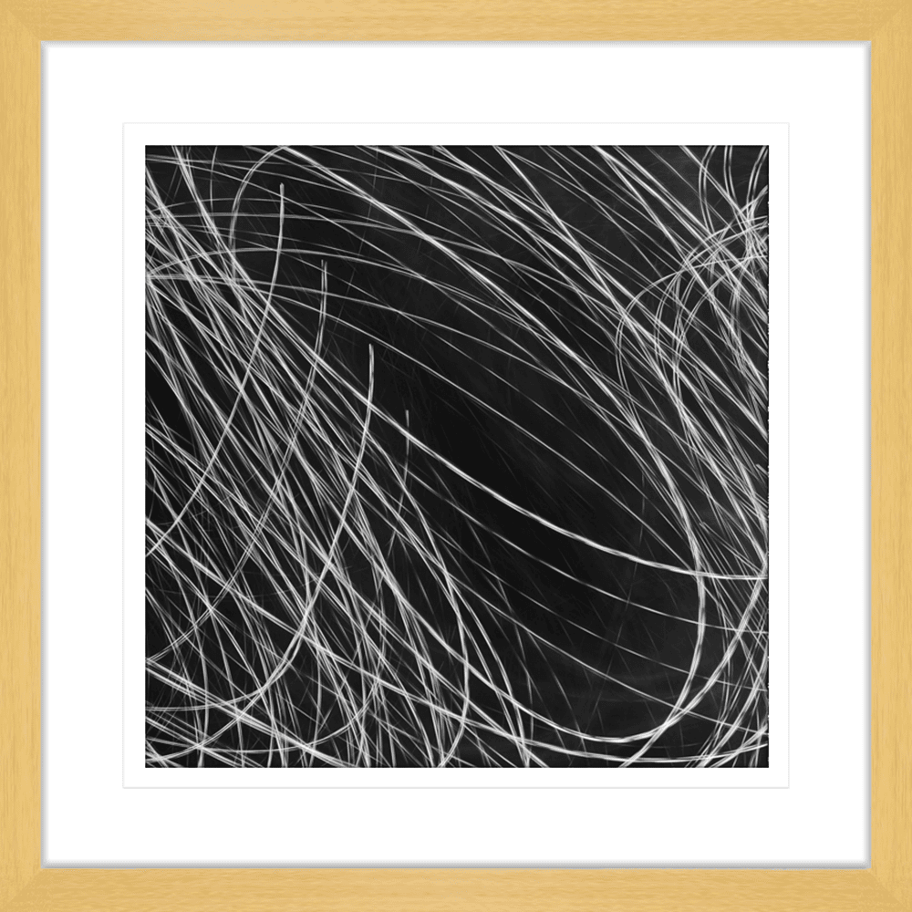 Urban Lights Collection - URB03 - Framed Art Print Oak