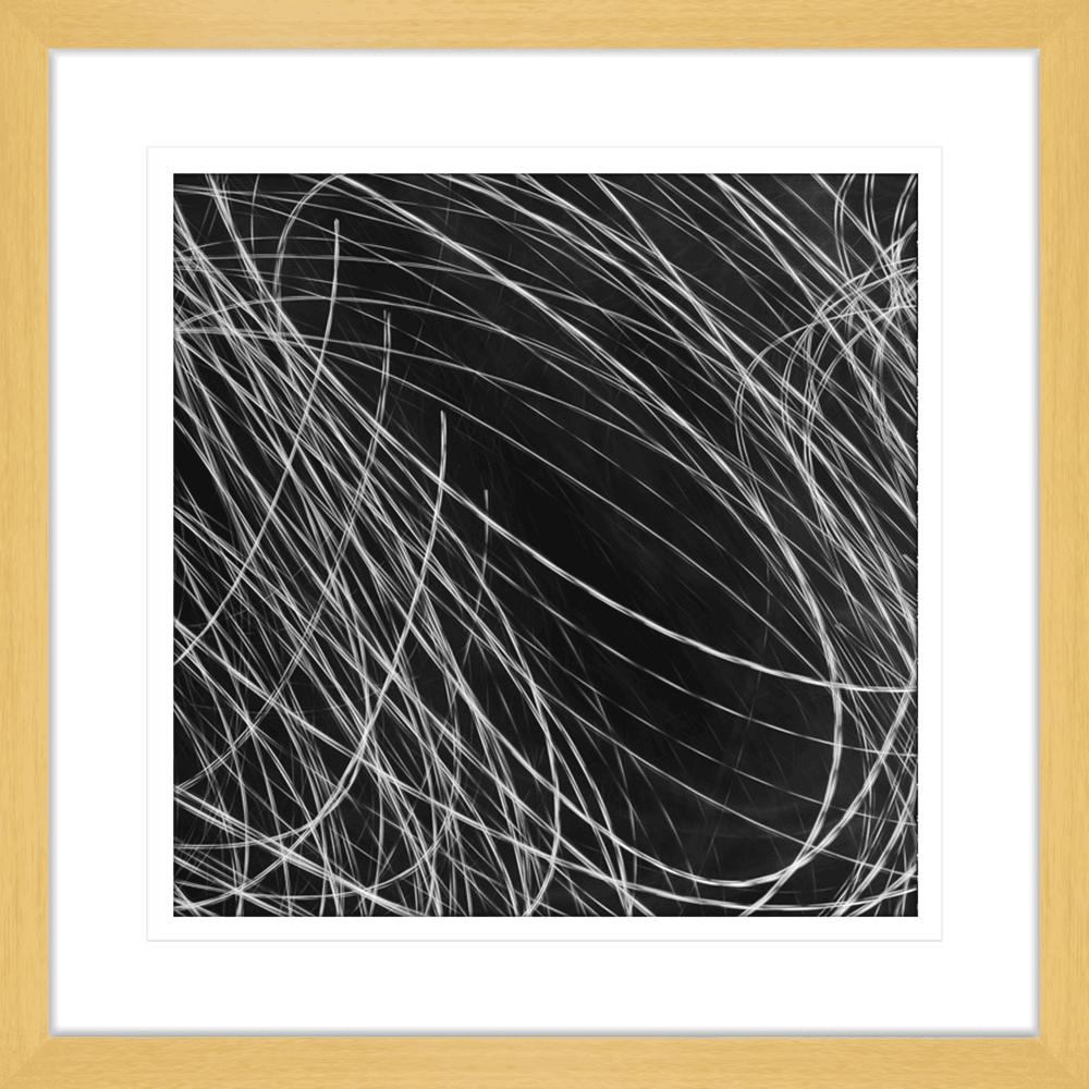 Urban Lights Collection - URB03 - Framed Art Print Oak