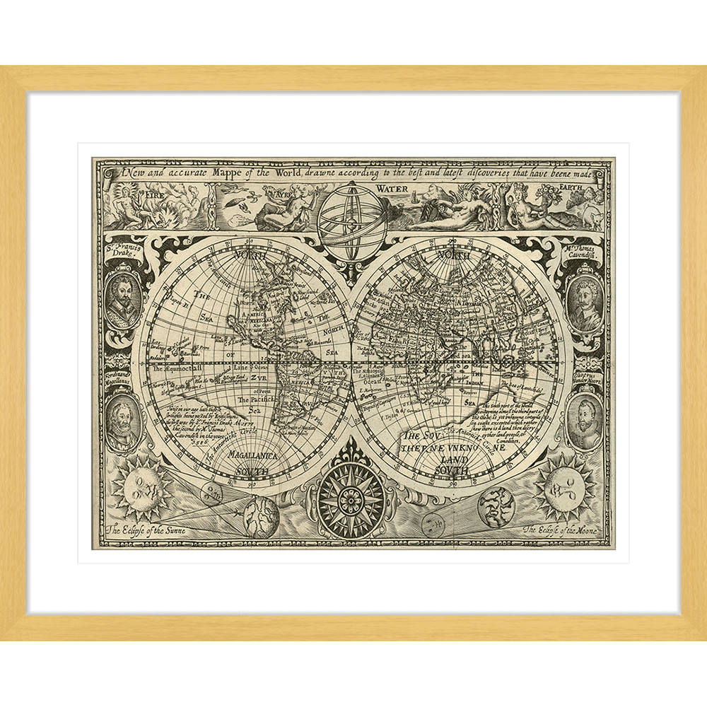 Vintage Voyages | Framed Art | Wall Art Gold Coast | Wallpaper | Innovate Interiors