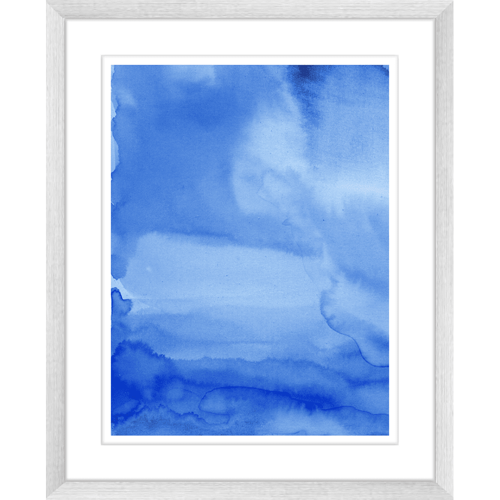 'Deep Sea' Watercolour Abstracts | Framed Art | Wall Art Gold Coast | Wallpaper | Innovate Interiors