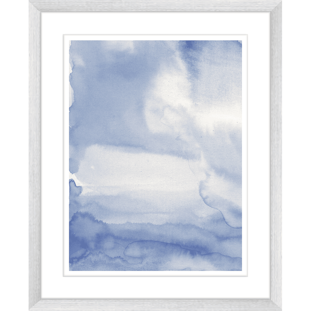'Moody Blues' Watercolour Abstracts | Framed Art | Wall Art Gold Coast | Wallpaper | Innovate Interiors