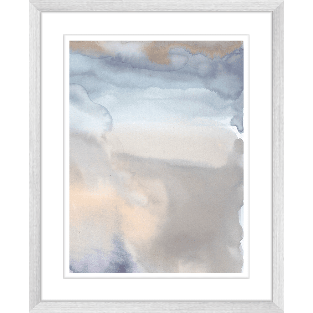 'Water's Reflection' Watercolour Abstracts | Framed Art | Wall Art Gold Coast | Wallpaper | Innovate Interiors