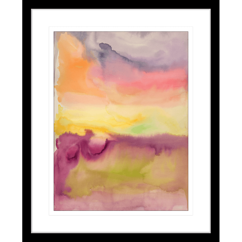 'High Song' Watercolour Abstracts | Framed Art | Wall Art Gold Coast | Wallpaper | Innovate Interiors