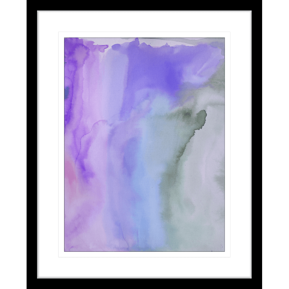 'Mauve Analysis' Watercolour Abstracts| Framed Art | Wall Art Gold Coast | Wallpaper | Innovate Interiors