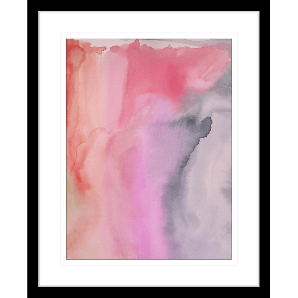 'Musical Interlude' Watercolour Abstracts| Framed Art | Wall Art Gold Coast | Wallpaper | Innovate Interiors