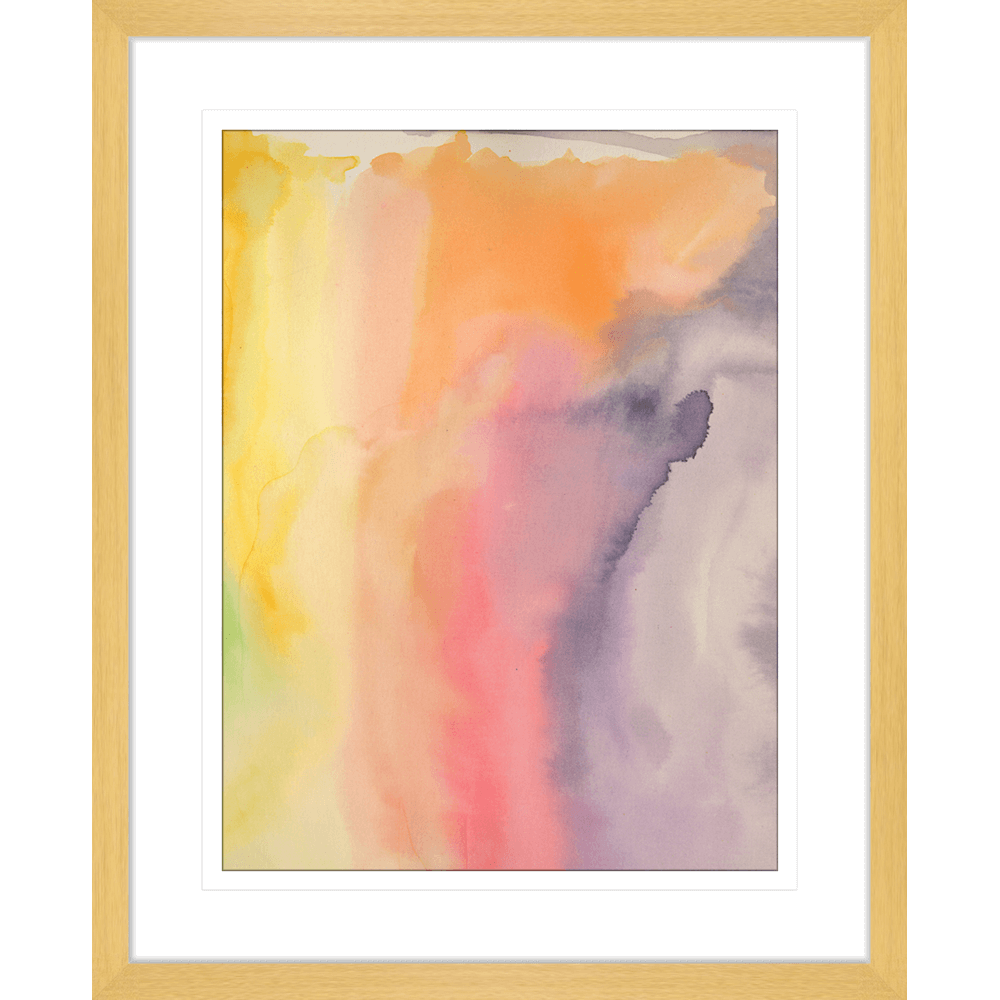 'Memories of a Lyric' Watercolour Abstracts| Framed Art | Wall Art Gold Coast | Wallpaper | Innovate Interiors