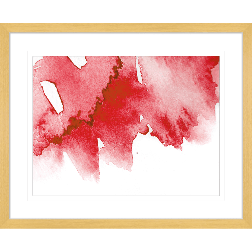 'Singapore Sling' Watercolour Abstracts | Framed Art | Wall Art Gold Coast | Wallpaper | Innovate Interiors
