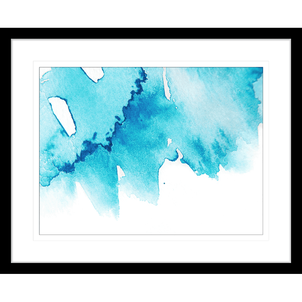'Ice Queen' Watercolour Abstracts | Framed Art | Wall Art Gold Coast | Wallpaper | Innovate Interiors