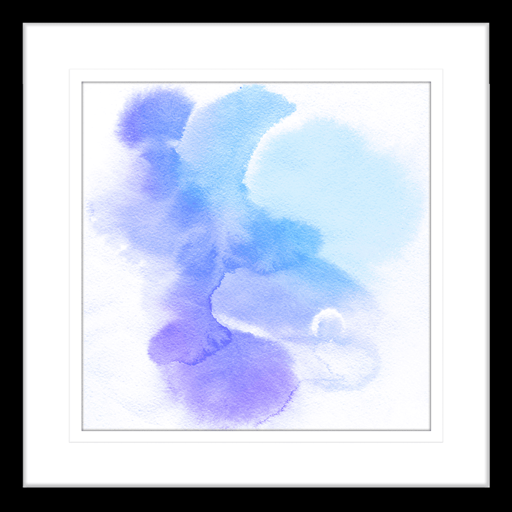 'Twilight Adventure' Watercolour Abstracts | Framed Art | Wall Art Gold Coast | Wallpaper | Innovate Interiors