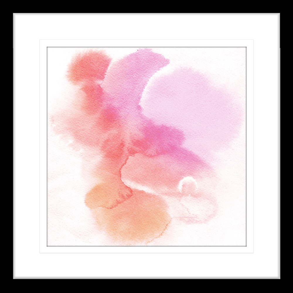 'Fairy Floss' Watercolour Abstracts | Framed Art | Wall Art Gold Coast | Wallpaper | Innovate Interiors