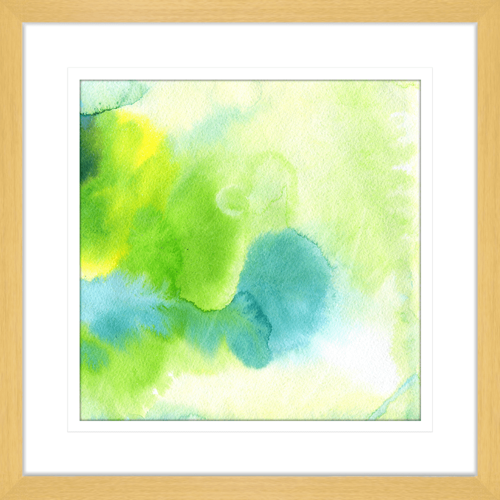 'Morning Meadow' Watercolour Abstracts | Framed Art | Wall Art Gold Coast | Wallpaper | Innovate Interiors