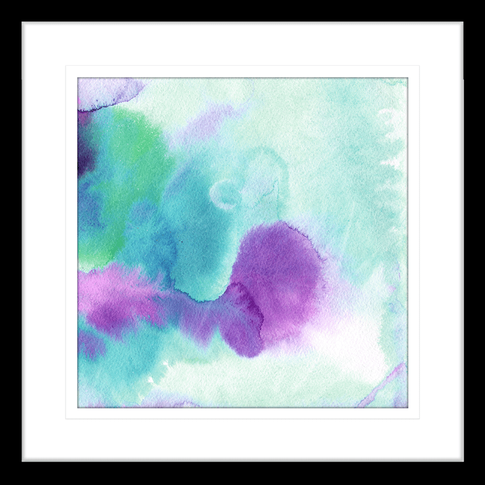 'Through the Looking Glass' Watercolour Abstracts | Framed Art | Wall Art Gold Coast | Wallpaper | Innovate Interiors