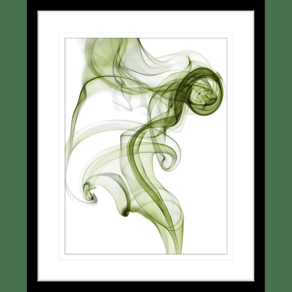 Wisp Smoke Abstract Olive| Framed Art | Wall Art Gold Coast | Wallpaper | Innovate Interiors